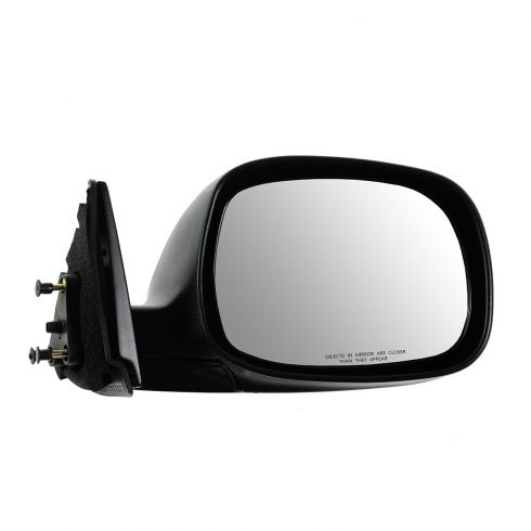 00-06 Toyota Tundra Manual Black Textured Mirror RH