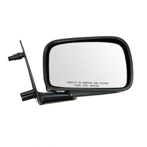 85-92 VW Jetta, Golf Manual Black Mirror RH