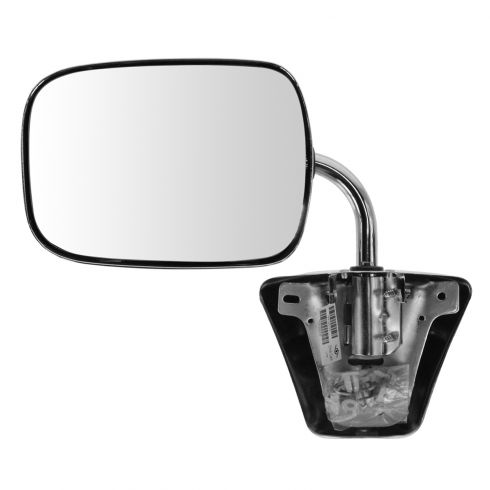 73-91 GM Truck Chrome Manual Mirror LH = RH