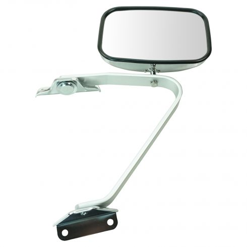 1980-96 Ford Bronco & Pickup Swing Lock Polished Chrome Mirror LH or RH