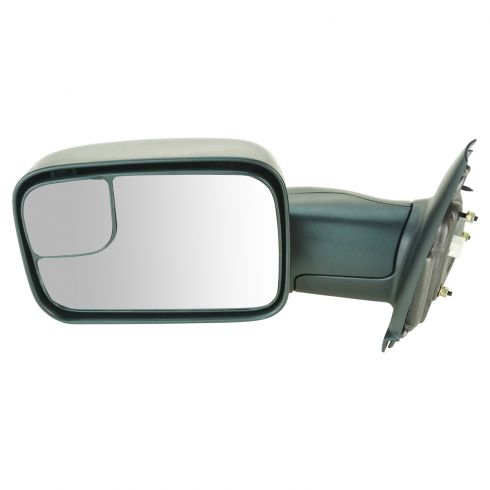 02-08 Dodge 1500 Pickup; 03-09 2500 3500 Pwr & Htd Trailer Tow Mirror LH