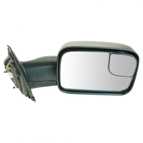 02-08 Dodge 1500 Pickup; 03-09 2500 3500 Pwr & Htd Trailer Tow Mirror RH