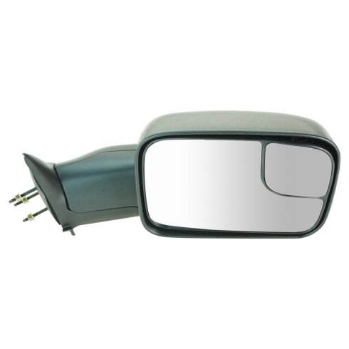 94-02 Dodge PU 6x9 Textured Manual Tow Mirror RH
