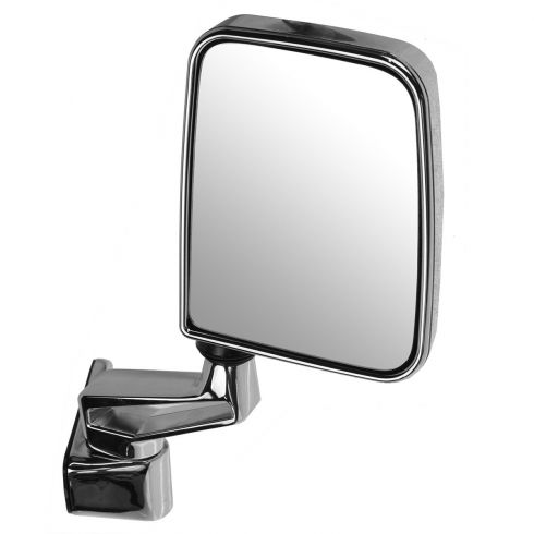 1987-02 Jeep Wrangler Mirror (Full and Half Doors) Manual Chrome Folding RH