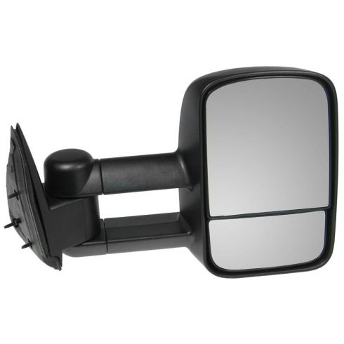1999-07 Silverado Sierra Towing Mirror Telescopic Manual RH