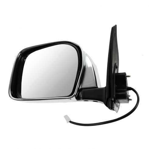 01-04 Toyota Tacoma Mirror Power LH Chrome