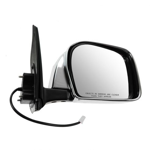 2001-04 Toyota Tacoma Mirror Power RH Chrome