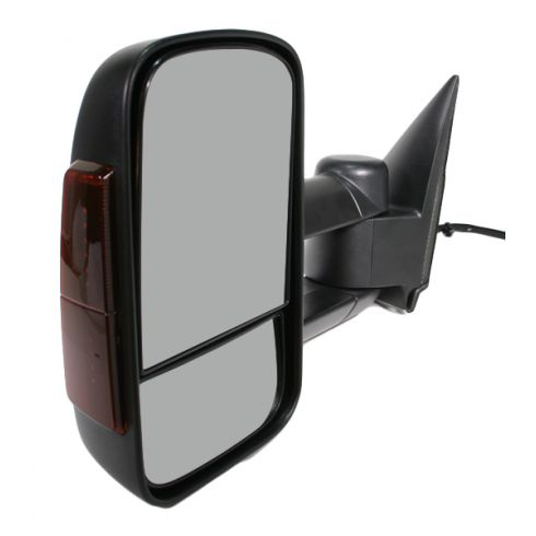 2003-07 Chevy GMC Silverado Sierra Power Heated Mirror with Housing Signal LH
