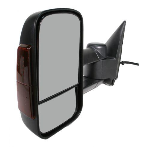 2003-07 Chevy GMC Silverado Sierra Power Heated Mirror with Housing Signal LH