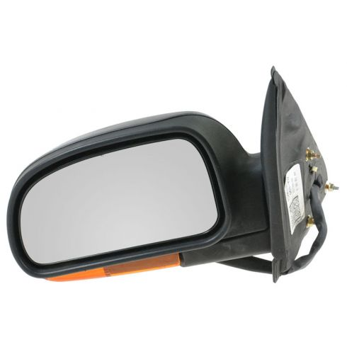 2002-07 GM Isuzu Mid Size SUV Pwr Htd Mirror Man Fold w/Amber Turn Sig Cvr LH