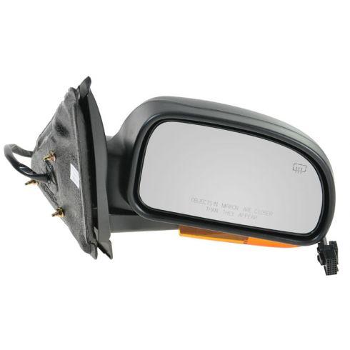 2002-07 GM Isuzu Mid Size SUV Pwr Htd Mirror Man Fold w/Amber Turn Sig Cvr RH