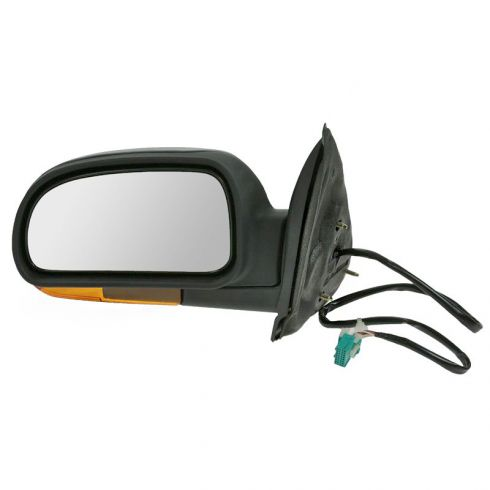 Mirror POWER FOLDING HEATED with AMBER TURN SIGNAL & TEXTURED FINISH Driver Side