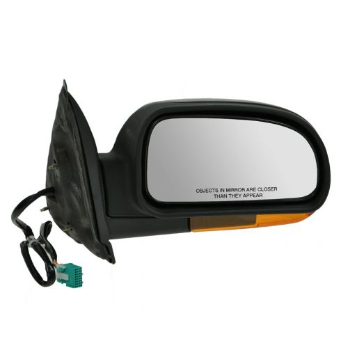 Mirror POWER FOLDING HEATED with AMBER TURN SIGNAL & TEXTURED FINISH Passenger Side