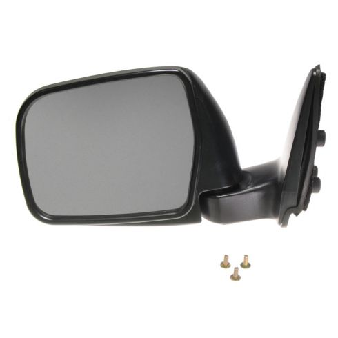 1993-98 Toyota T100 Mirror Manual Folding Black LH