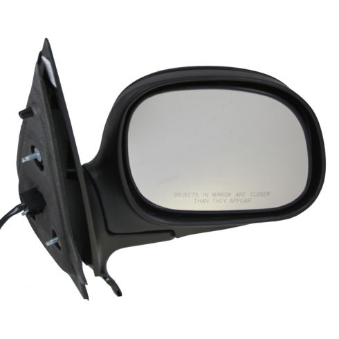 98-02 Expedition Pickup Power Mirror Flat Black RH