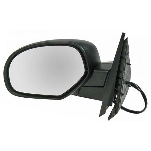 2007-11 GM Truck Pwr Fold Htd Mem Txt Cap Mirror LH