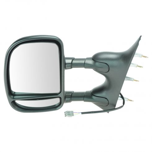 2009-11 Ford Van Pwr Dual Arm Tow Mirror LH