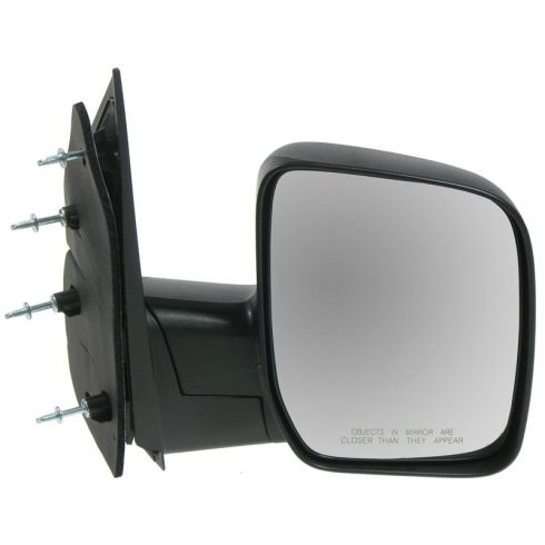 2008-11 Ford Van Manual Mirror w/Single Glass RH