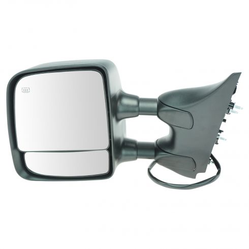 2004-10 Nissan Titan SE & Pro-4X Pwr Htd Chrm Cap Tow Mirror LH