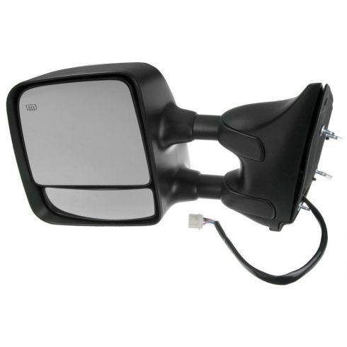 2004-10 Nissan Titan LE Pwr Htd Mem Chrome Cap Tow Mirror LH