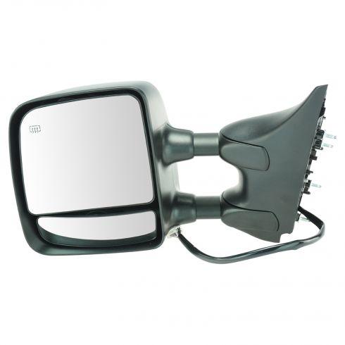 2008-10 Nissan Titan Pro-4X Pwr Htd Mem Txt Cap Tow Mirror LH