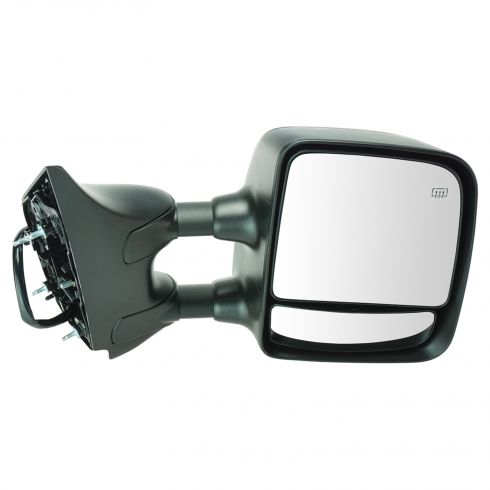 2008-10 Nissan Titan Pro-4X Pwr Htd Mem Txt Cap Tow Mirror RH