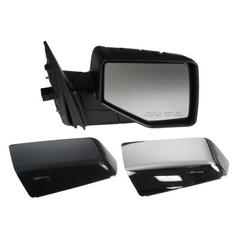 2006-10 Ford Explorer; 2007-10 Sport Trac Pwr Puddle Light Mirror RH (Chrme & PTM Caps)
