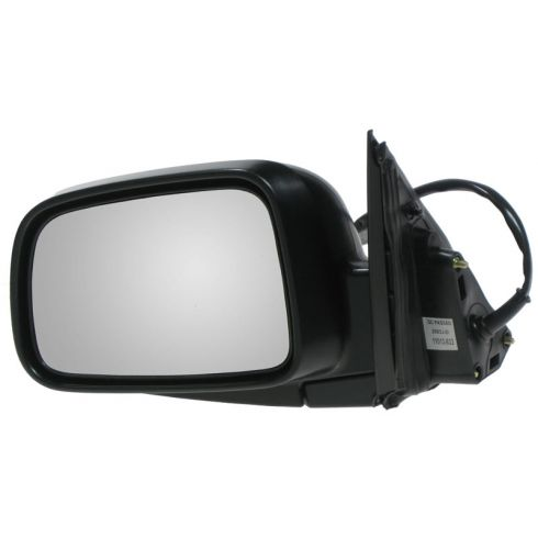 2002-06 Honda CR-V Power Mirror Textured Black Head LH
