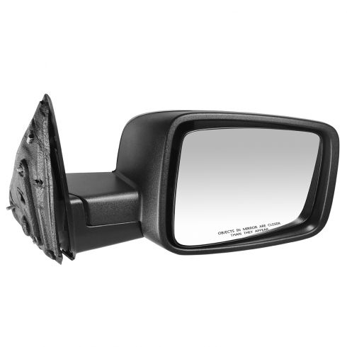 2009-11 Dodge Ram 1500; 2010-11 2500 3500 Manual Textured Mirror RH
