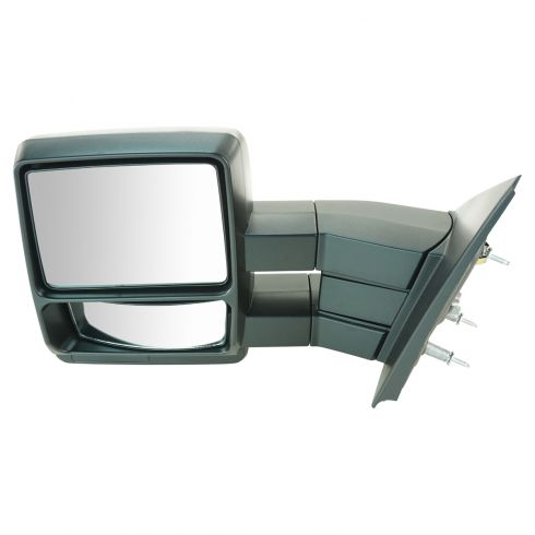 04-11 Ford F150 Manual Textured Tow Mirror LH (Upgrade)
