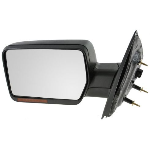 2007-08 Ford F150 Power Heated w/Turn Signal Textured Mirror LH