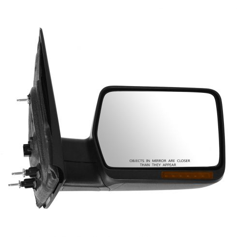 04-06 Ford F150 Power Heated w/Turn Signal Textured Mirror RH