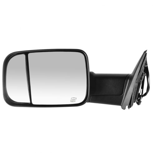 09-11 Dodge Ram 1500 ; 10-11 Dodge 2500 3500 Pwr Htd PL TS Towing Textured Mirror LH