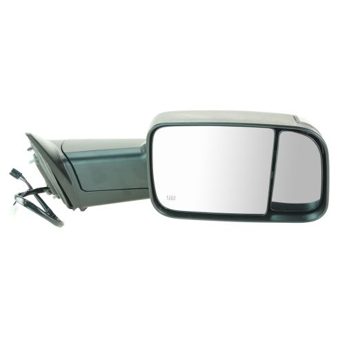 09-11 Dodge Ram 1500; 10-11 Dodge 2500 3500 Pwr Htd PL TS Towing Textured Mirror RH