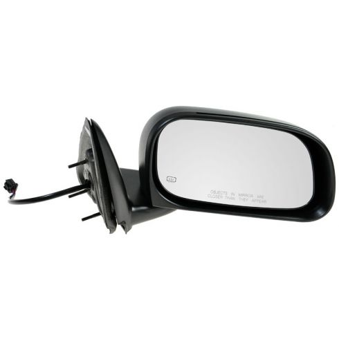 2005-11 Dodge Dakota; 06-08 Mitsu Raider Power Heated Folding 6x9 Mirror RH