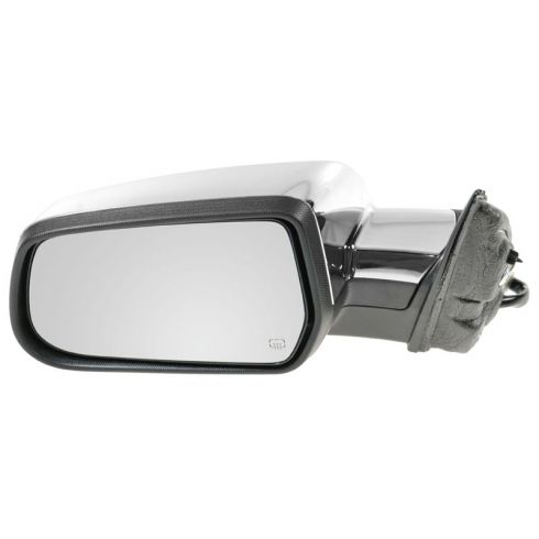 10-11 Chevy Equinox, GMC Terrain Power Heated w/Memory Black w/Chrome Cap Mirror LH