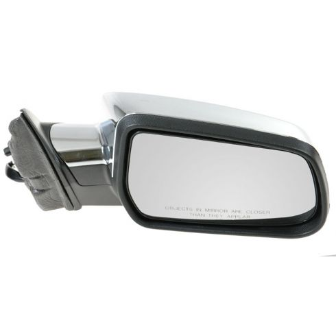 10-11 Chevy Equinox, GMC Terrain Power Heated w/Memory Black w/Chrome Cap Mirror RH