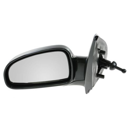 2004-08 Chevy Aveo, Suzuki Swift Manual Remote Mirror w/Black Housing LH