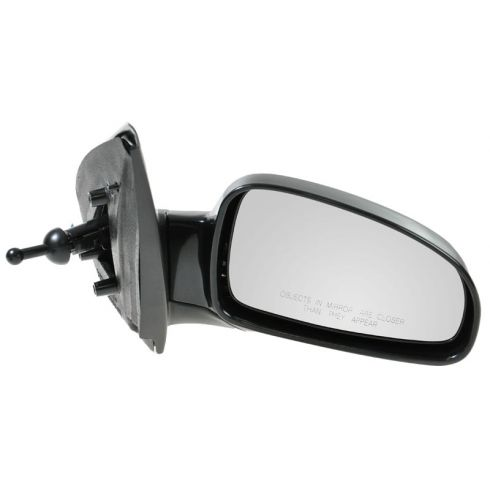 2004-08 Chevy Aveo, Suzuki Swift Manual Remote Mirror w/Black Housing RH