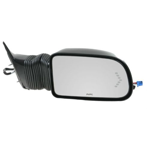 03-07 Silverado, Sierra; 03-06 SUV Suburban Power Extending Heated Turn Signal Camper Style Mirror R