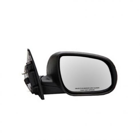 10-12 Kia Forte Coupe Power Heated w/Turn Signal Black Textured Mirror RH