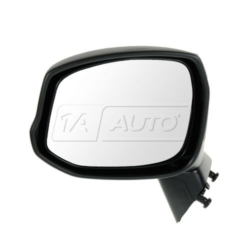 12 Honda Civic Manual Textured Black Folding Mirror LH