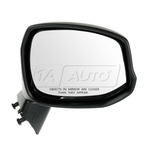 12 Honda Civic Manual Textured Black Folding Mirror RH