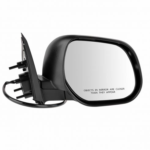 10-12 Mitsubishi Outlander Power Gloss Black Mirror RH