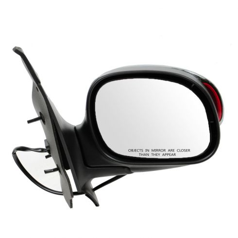 01 (from 1/23/01)-03 F150 Crew Cab Power (w/Exterior Signal) Chrome Cover Mirror RH