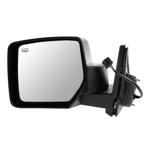 07-12 Jeep Patriot Power Heated Black Textured Mirror LH