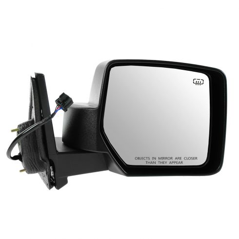 07-12 Jeep Patriot Power Heated Black Textured Mirror RH