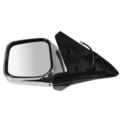 92-00 Mitsubishi Montero Power Chrome Mirror LH