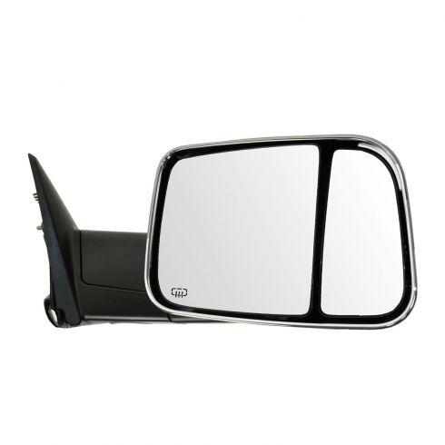 09-12 Dodge Ram 1500 (exc Mega Cab); 10-12 Dodge 2500 3500 Pwr Htd PL TS Memory Tow Chrome Mirror RH