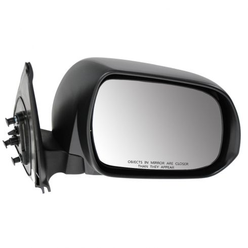 12-13 Toyota Tacoma Manual Black Textured Mirror RH